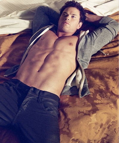 Kellan Lutz by Yu Tsai for Dylan George F/W 2011 (detail)
