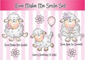 Pink Gem PFP prize - Ewe Make Me Smile - Copyright