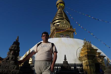 Imagini Kathmandu: templul maimutelor