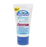 Coppertone Sensitive Skin Faces Sunscreen Lotion SPF 50