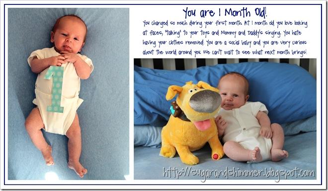 Nathan - 1 Month