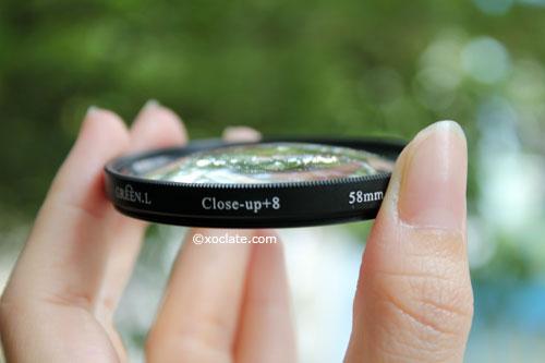 closeup filter