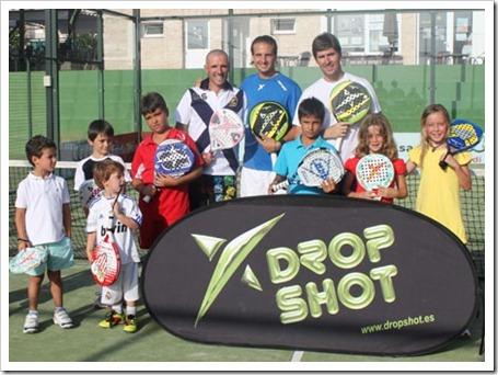 torneo drop shot en maspadel junto con los niños clinic 2011