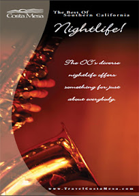 Cover of Joy Of Life's Book The Best Of Southern California Nightlife Brochure