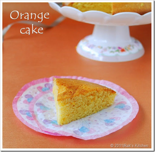 Orange cake-eggless-1