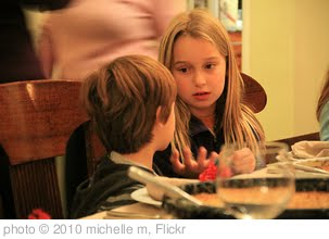 'kid conversations' photo (c) 2010, michelle m - license: http://creativecommons.org/licenses/by/2.0/