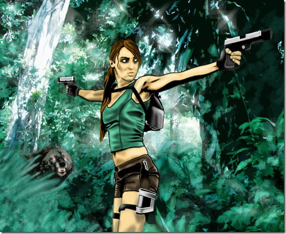 Lara Croft (199)