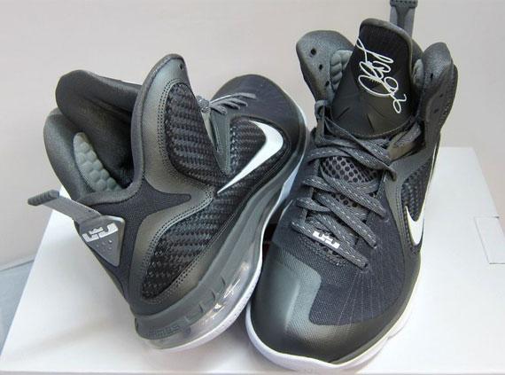 Releasing Now Nike LeBron 9 Cool GreyWhiteMetallic Silver