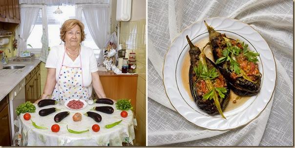 Portraits de grand-mères et leurs plats cuisinés (22)