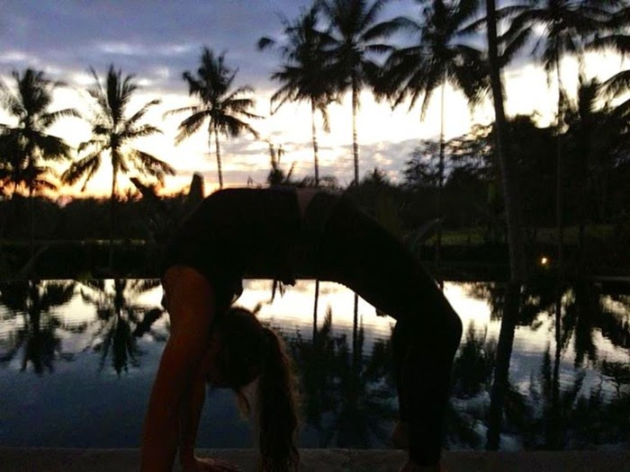 Bali Yoga reflection