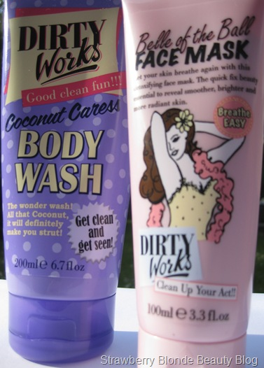 Dirty Works Body Wash &amp; Face Mask