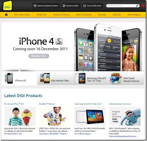 iPhone 4S - DiGi