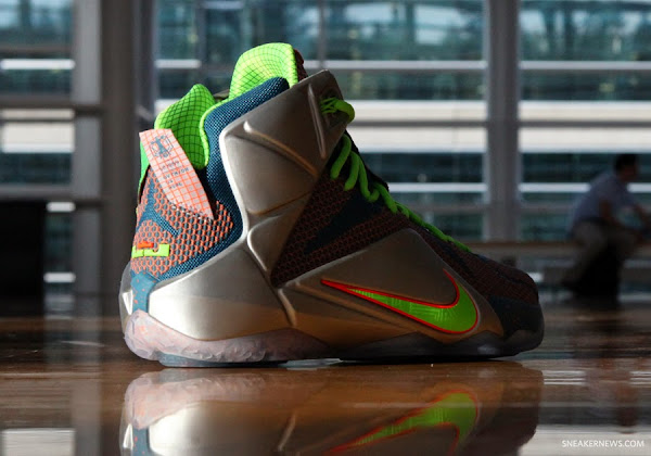 Nike LeBron 12 8220Trillion Dollar Man8221 Pics amp Release Date