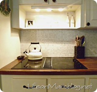 Tile Backsplash Tutorial