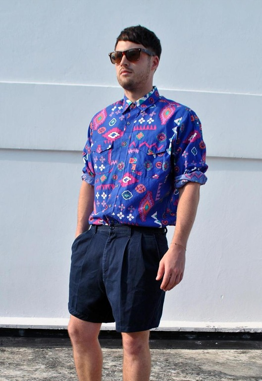 Vintage Wrangler Aztec Inspired Pattern Shirt, £35, Ease The Squeeze