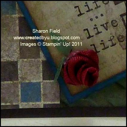 DCBD237, Sharon Field, Createdbyu, You're a Gem, Daring Adventure, Natures Pace, Antique Brads, Well Worn, Herringbone, Trinket Keys, Grunge, Mixed Media, Composition, Embossing, Texture
