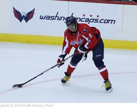 'Alexander Ovechkin' photo (c) 2009, Keith Allison - license: http://creativecommons.org/licenses/by-sa/2.0/