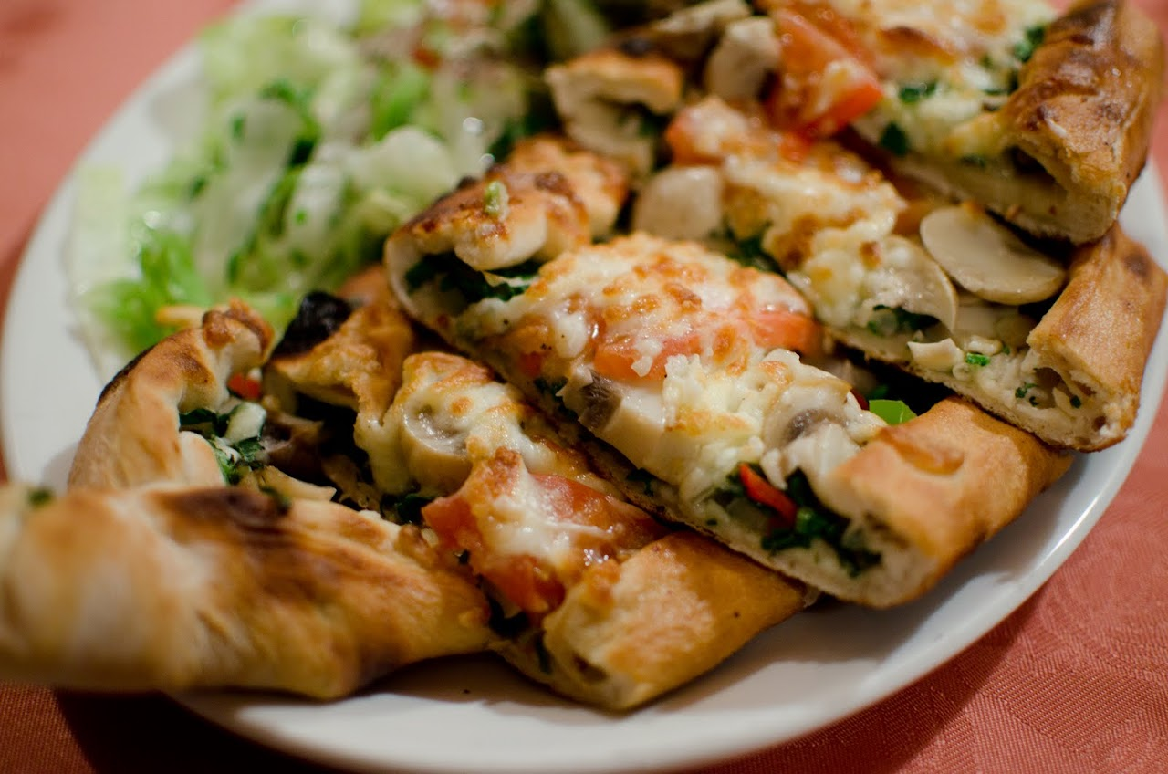 Turkish pizze