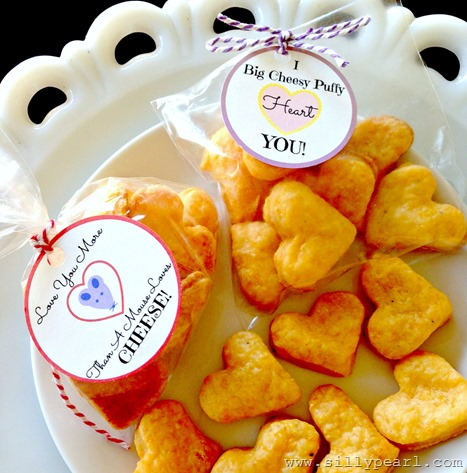 Cheesy Valentine Printables - The Silly Pearl