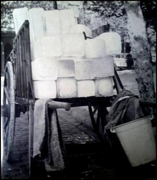 carro de hielo ca 1955