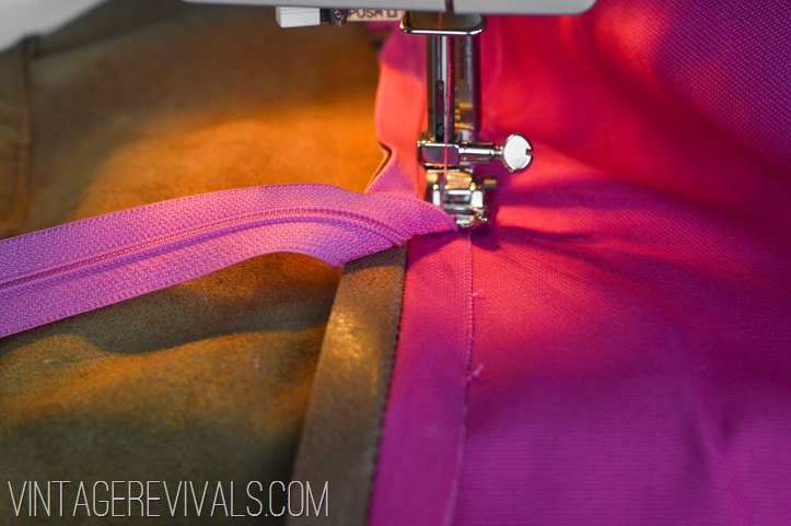 DIY Leather Pillow Tutorial vintagerevivals.com-15