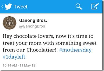 GanongChocTweet