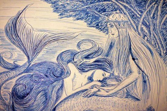 Ruslana Lev Little Mermaid The Sorrow