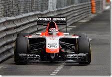 Jules Bianchi con la Marussia