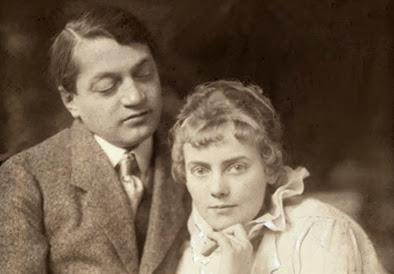 Boncza Berta (Csinszka),Ady Endre. Photograph by Aladár Székely_1915