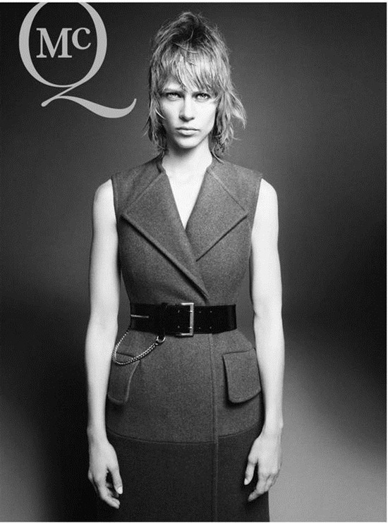 aymeline valade mcqueen campaign fall 2012