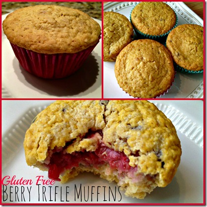 Berry Trifle Muffins