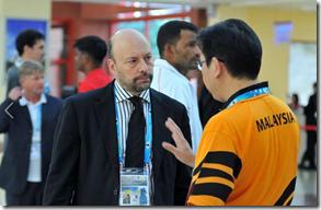 Greg Lau, MCF Secretary General