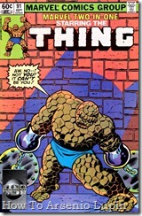 P00091 - Marvel Two-In-One #91