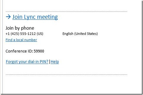 Lync 2013 - Cust Invite - Default invite