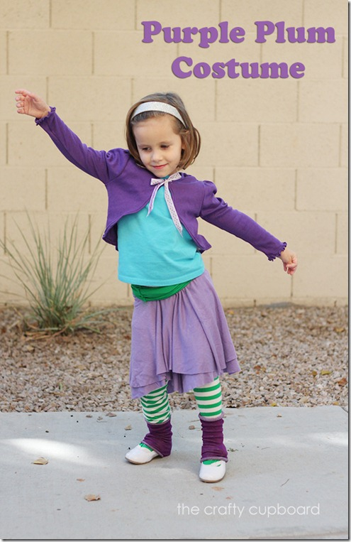 Purple Plum Costume