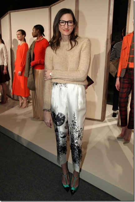 Jenna Lyons Mercedes Benz Fashion Week Fall jg5mPNtU12ll