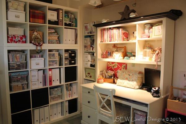 Studio desk view 1
