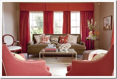 Glass-Table-Living-Room-with-Red-Cur