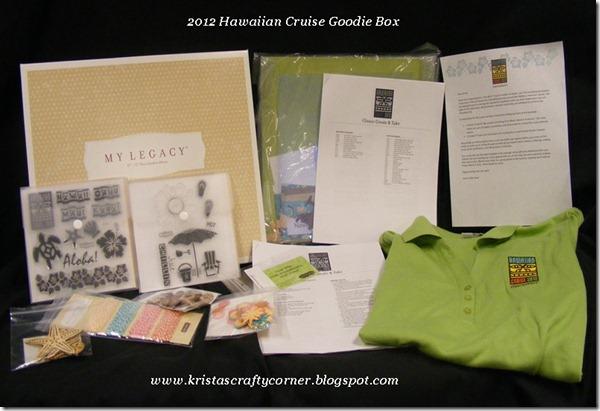 Hawaiin Cruise items