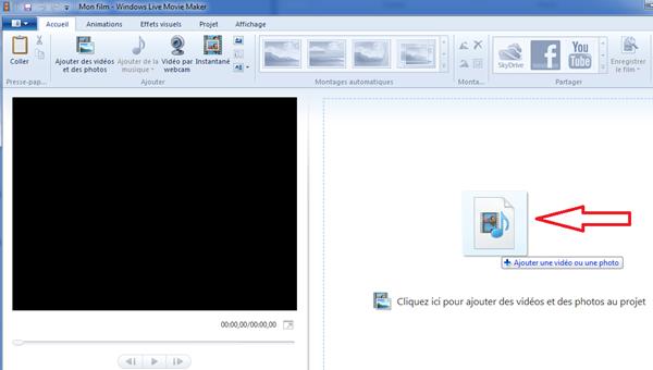 Comment découper une vidéo Youtube avec Windows  live movie maker