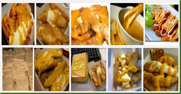 Cheese ala KFC wedges