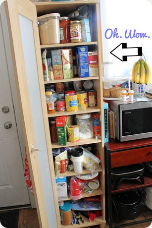 kitchen pantry cupboard organization messy