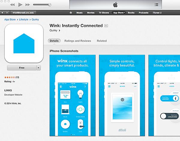 Wink App Store
