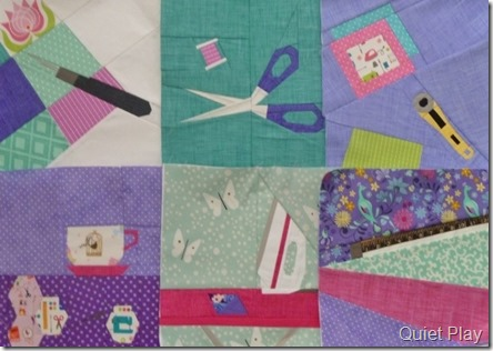 And Sew On BoM blocks so far