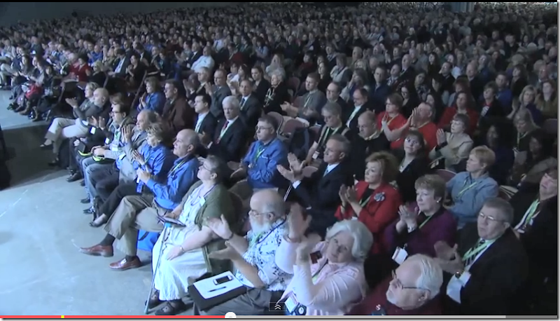 The audience at RootsTech 2014 contains many people I know