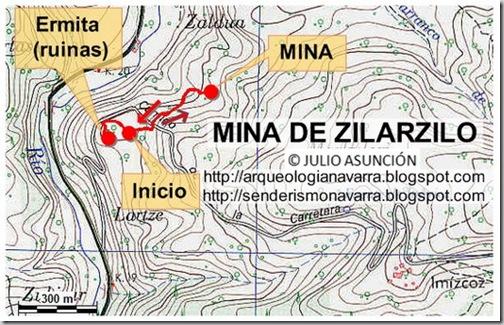 Mapa mina de Zilarzilo