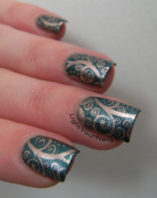 stamping with BPS plate QA65 Born Pretty Store