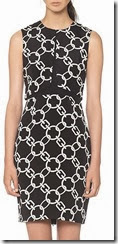 Whistles Chain Print Dress