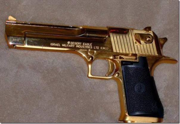 Armas de Ouro de Saddam Hussein (7)