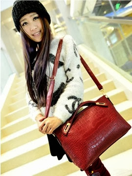 U8306 RED (199.000) - PU Leather, 31x23x12